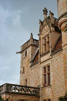 Castle, Périgord, Dordogne, The Milandes