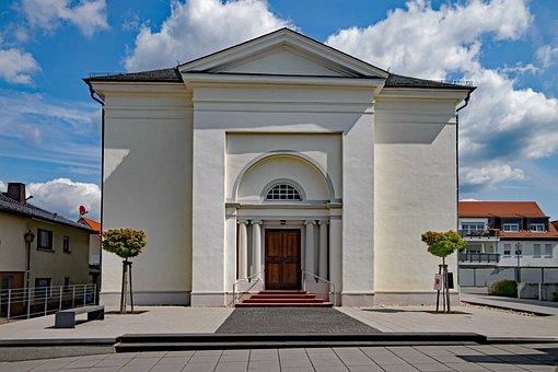Evangelical Church, Blow, Taunusstein, Taunus, Hesse