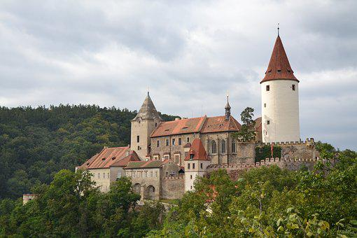 Křivoklát, Castle, Monument, Czech Republic, History