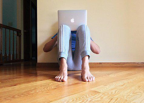 Person, Young, Computer, Laptop, Surfing, Internet