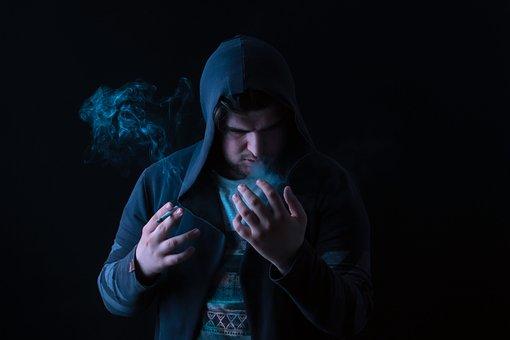 Madness, Smoke, Sad, Night, Dark, Lo, Light, Sky