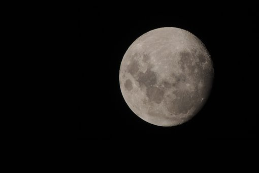 Moon, Nocturne, Night, Full Moon, Astro, Full