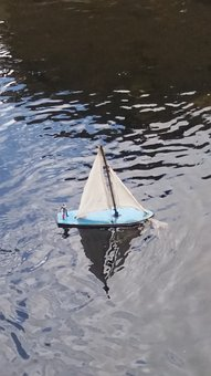 Toy, Boat, River, Hobby, Summer