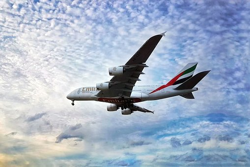 Emirates, Airlines, Travel, Flight, Aircraft, Plane