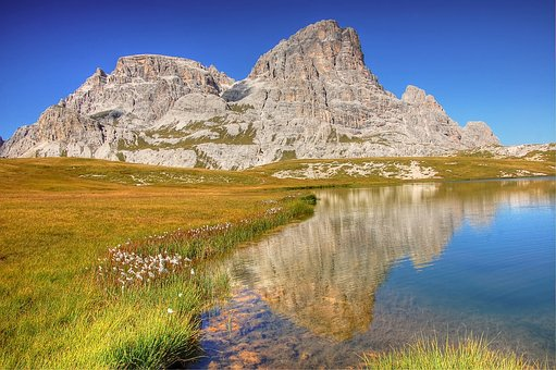 Bödensee, Dolomites, Mountains, Alm, Nature, Italy