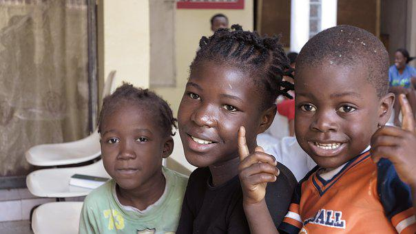 Children, Haiti, Carrefour, Port Au Prince