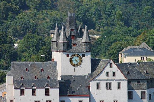 Diez, Castle, Lahn, The Lahn Valley, Fachwerkhäuser