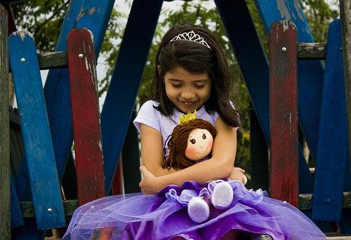 Doll, Child, Childhood, Linda, Beauty, Princess