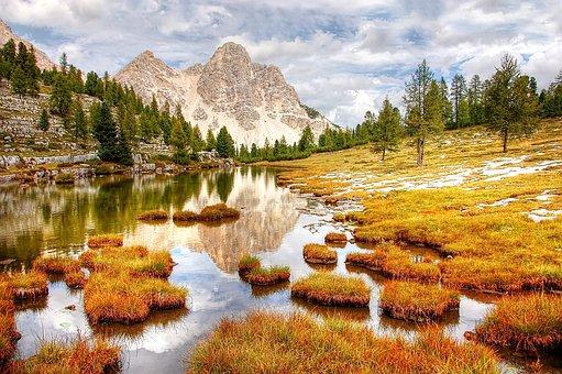 Fanes, Dolomites, Mountains, Landscape, Rock, Alpine