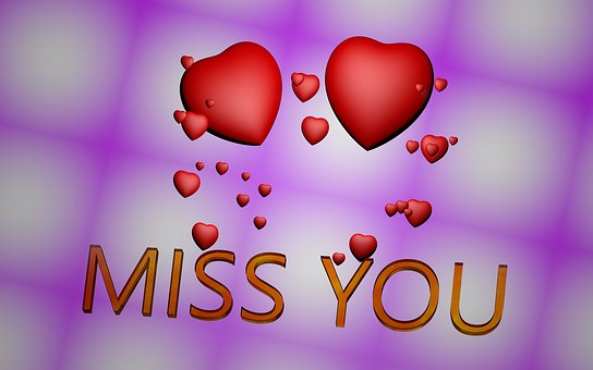 Heart, Miss, Longing, Separation, Valentine's Day