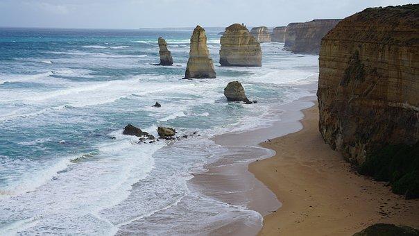 Great Ocean Road, Seaside, Sea, Ocean, Australia