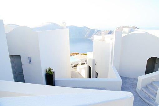 Greece, Architecture, Home, Greek, Travel, Tourism