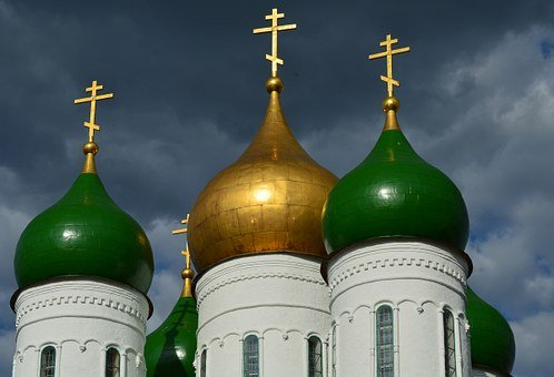 Onion, Orthodox, Church, Dome, Russia, Kolomna