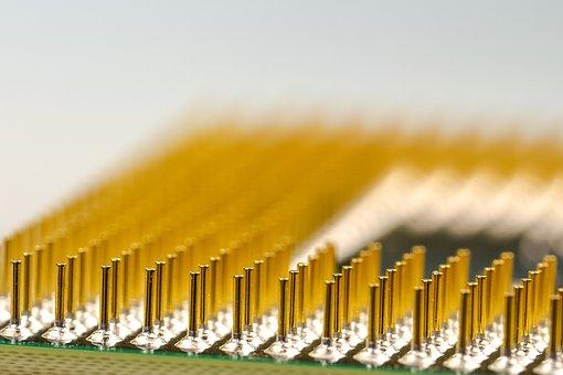 Pins, Cpu, Processor, Macro, Pen, Computer, Electronics