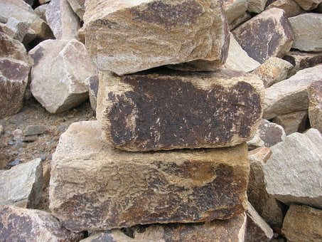 Rocks, Quarried, Quarry, Rock Pile, Cut Stone, Stone