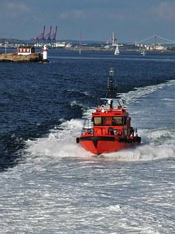Gothenburg, Swedish Pilot Boat, Göteborg Harbor