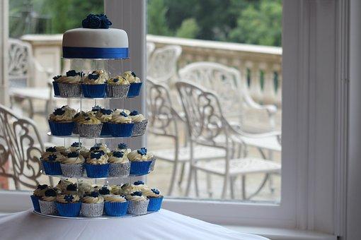 Wedding, Cake, Wedding Cakes, Sweet, Food, Pink