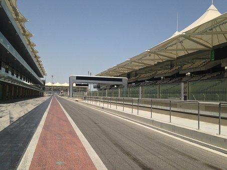 Abu Dhabi, Yas Marina Circuit, Yas Island, Race Trace