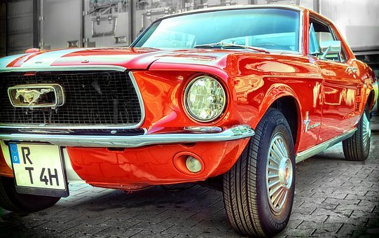 Ford, Mustang, Pkw, Classic, Auto, Oldtimer