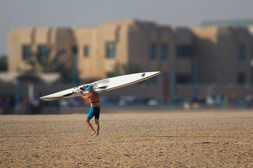 Beach, Surfing, Summer, Sea, Water, Travel, Holiday
