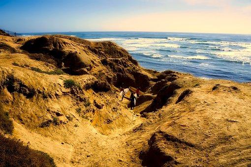 California, Sea, Ocean, Pacific, Nature, Outdoors