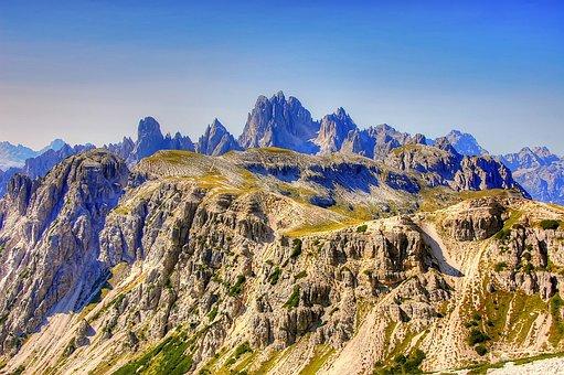 Cadini, Dolomites, Nature, Unesco World Heritage, View