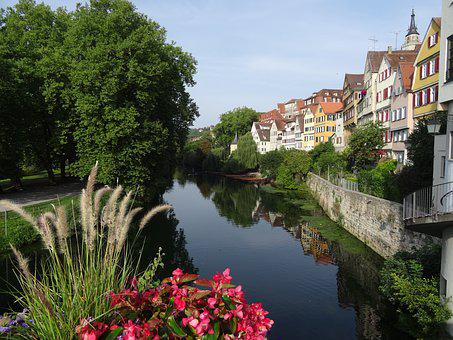 Tübingen, Neckar, Neckar Front