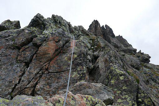 Mountains, Climb, Climber, Rock, Landscape, Steep