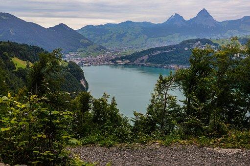 Bergsee, Alpine, Swiss Alps, Pass, Mountains, Nature