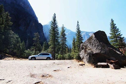 Yosemite, Bmw, Outlook, Panorama, Mountains