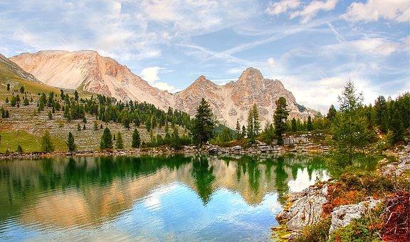 Fanes, Dolomites, Landscape, Mountains, Rock, Alpine