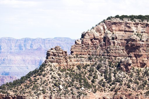 Canyon, Mountains, Structure, Nature, Structures