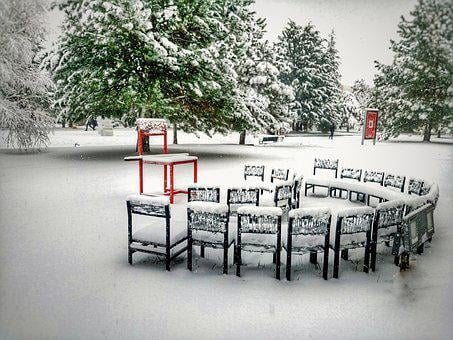 Snow, Cold, Wall Paper, Table Top, Landscape, Nature