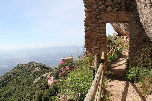 Montserrat, Walk, Mountain, Spain, Travel, Catalonia