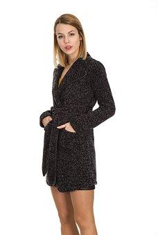 Women's, Model, Clothes, Mont, Winter, Cold, Human