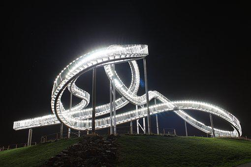 Tiger And Turtle, Duisburg, Looping, Ruhr Area, Artwork