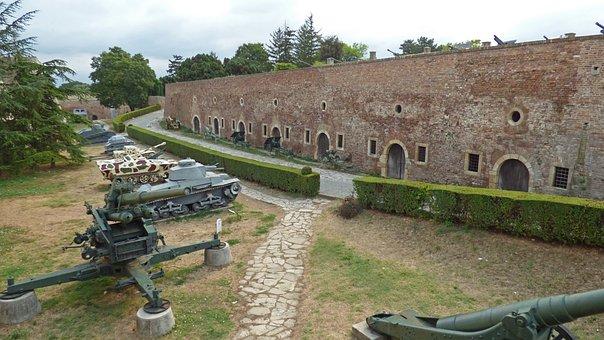 Belgrade, Serbia, Fortress, Kalemegdan, Park, Military