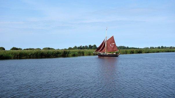Sailing, Sailing Boat, Boat, Ship, Boating