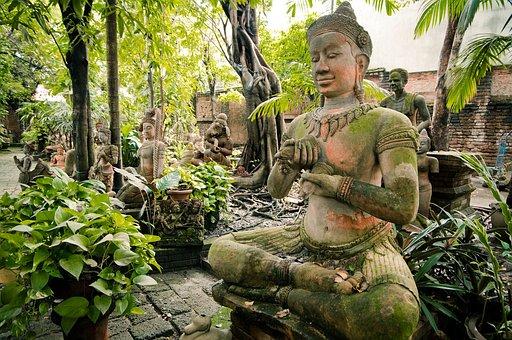 Buddha, Buddhism, Statue, Asia, Religion, Thailand