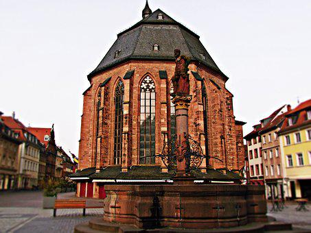 Church, The Basilica, Architecture, Houses, Monument