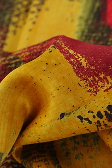 Colors, Fabric, Abstract, Textile, Design
