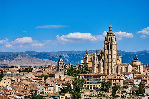 Segovia, Cathedral, Old Town, Historically, Spain