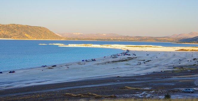 The Lake On The Raft, Raft, Lake, Salt, Lime, White