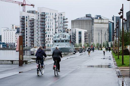 Urban, Cyclist, Bike, Bicycle, City, People, Street