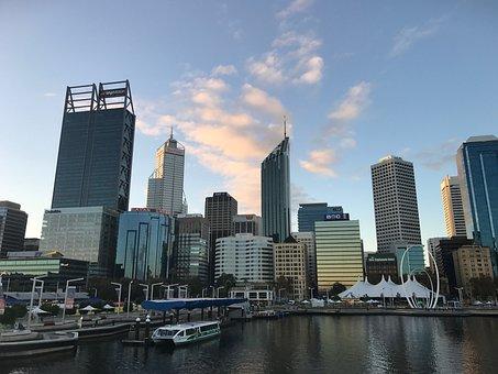 Perth, Elizabeth Quay, City, Western Australia, Modern