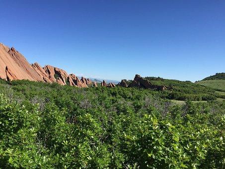 Colorado, Rocky Mountains, Roxborough, Nature