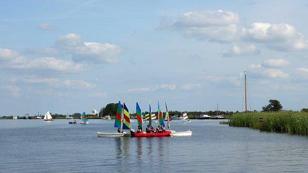 Sailing School, Sailing, More, Water, Sailing Boat