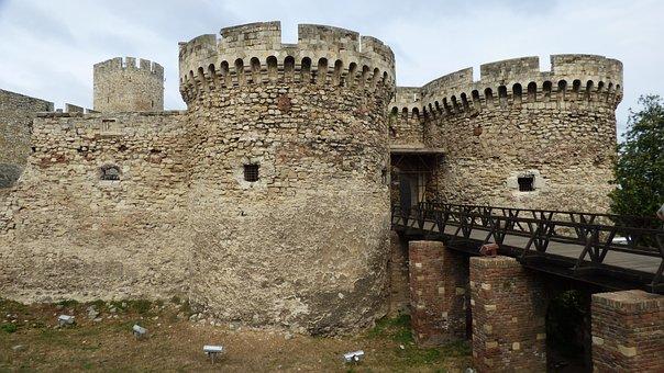 Belgrade, Serbia, Fortress, Kalemegdan, Park