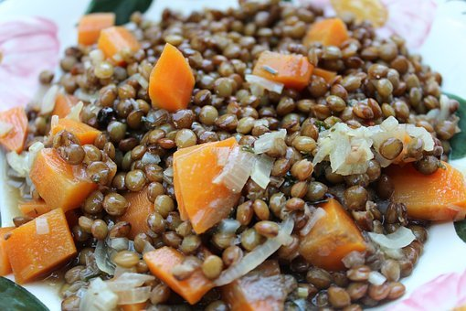 Lenses, Carrots, Food, Stew