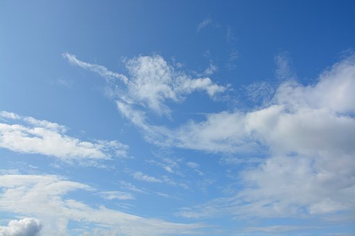 White Cloud, White Clouds, Cloudy Sky, Blue Sky